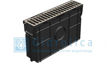 Арт.№ 08068 Комплект Gidrolica Light, h320, DN100, A15