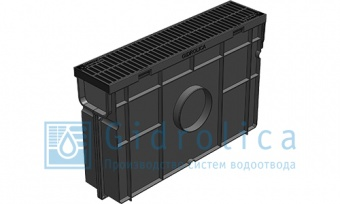 Арт.№ 08078 Комплект Gidrolica Light, h320, DN100, A15